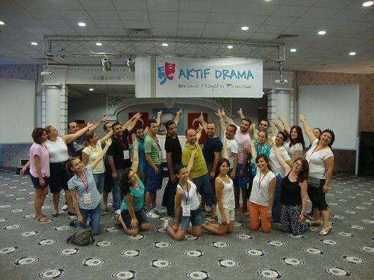 Fethiye'de Drama E�itimi