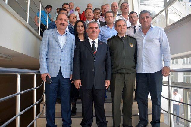 Protokol Fethiyespor ��in Bir Araya Geldi