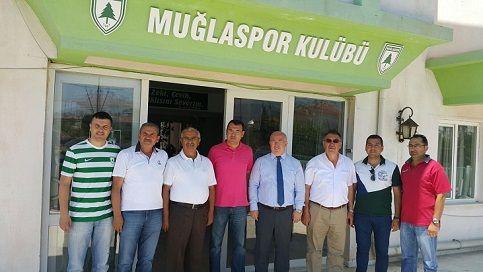 Milletvekili Demir, Muğlaspor'u Ziyaret Etti