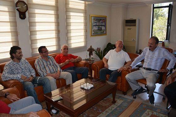 Ahmet Yıldırım Başkan Saatcı'yı Ziyaret Etti