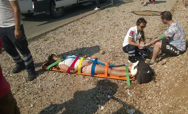 2 Ayrı Kaza 9 Kişi Yaralandı