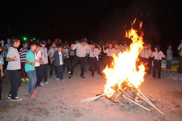İzciler Kamp Ateşiyle Sezonu Tamamladı