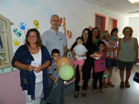 Devlet Hastanesinde �ocuklar ��in K�t�phane