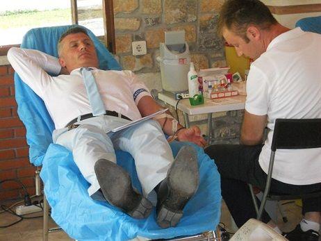 Fethiye Orman İşletme Müdürlüğünde Kan Bağışı