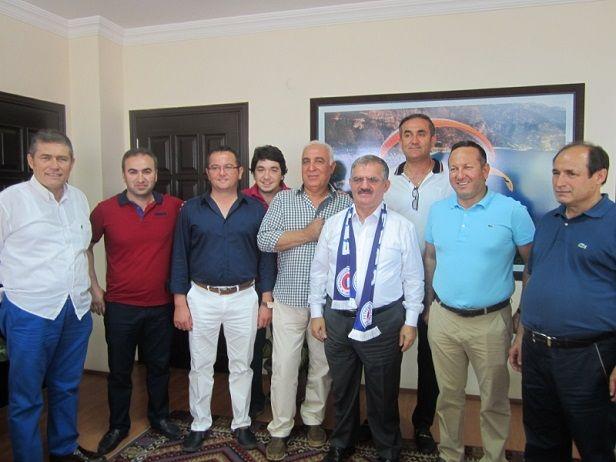 Yeni Yönetimden Kaymakam Çalık'a Ziyaret