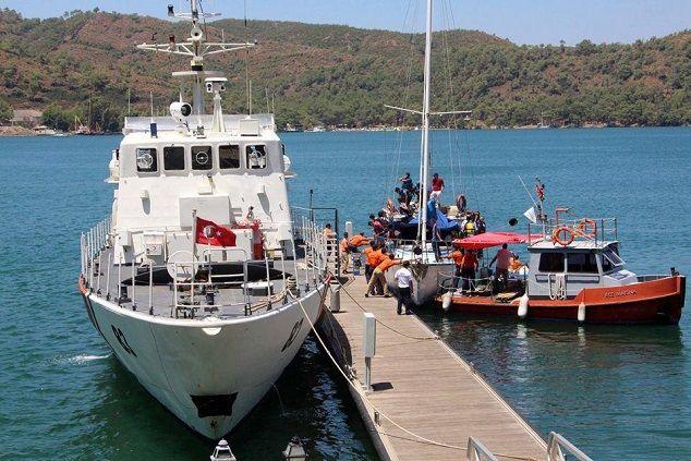 Yunanistan'a Ka�maya �al��an 100 Suriyeli Yakaland�