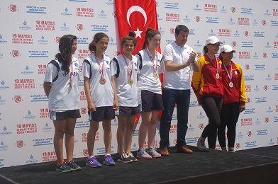 Belediyespor K�rek Tak�m� Ba�ar�ya Doymuyor